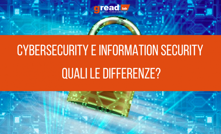 La differenza tra cybersecurity e information security